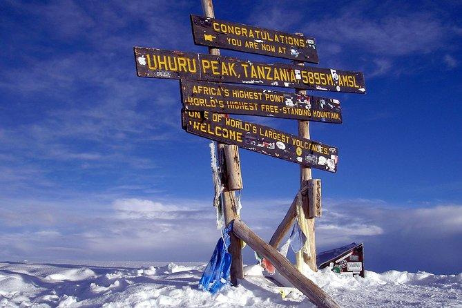 Mount Kilimanjaro climb 7 Days Machame Route