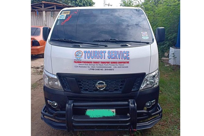 One Way Sharing Van Transfer Puerto Princesa to El Nido
