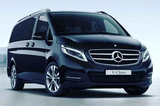 Rome Hourly Rate Disposal Service with Private Driver in Luxury Van