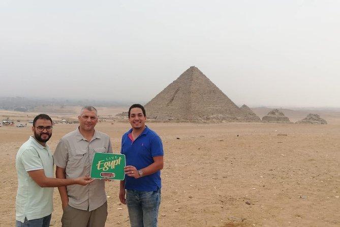 Cairo pyramids and Egyptian museum Layover tour