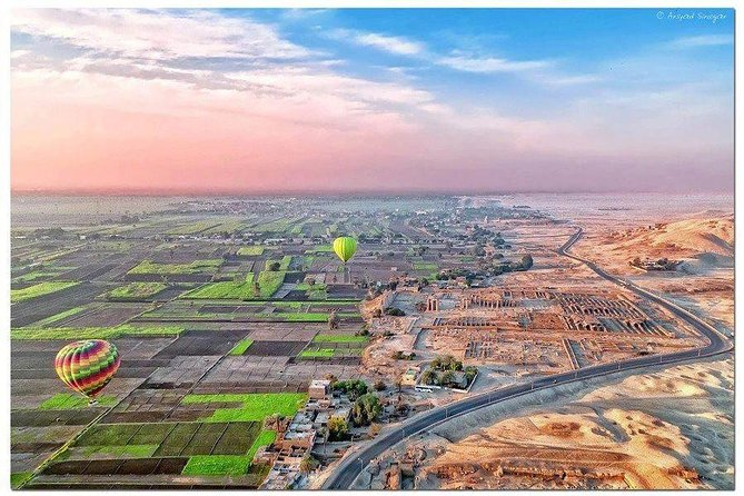 Sunrise Hot Air Balloon Ride in Luxor and West Bank Private Tour