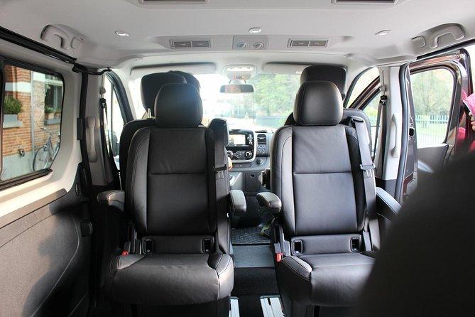 Executive Minivan from Brussels, Mechelen, Antwerp to Tomorrowland Boom