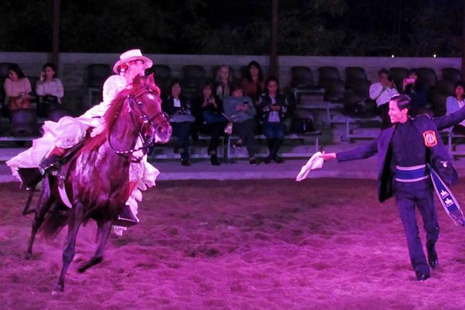 Dinner Show and Exhibition of Peruvian Horse including Pick up & drop off