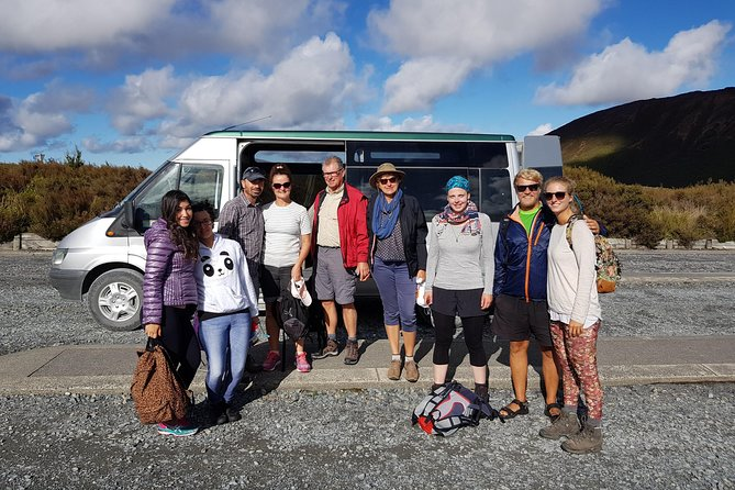 Tongariro Alpine Crossing shuttle, return transfer from Turangi.