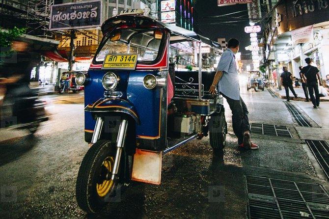 Bangkok - Chinatown, Markets & Street Food.hday With Local Vehicles & Tuk Tuk Ita