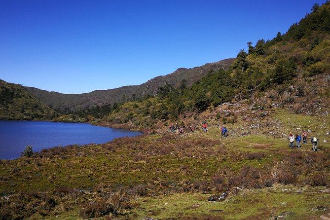 Dragon Trails trek in Bhutan