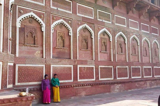 Excursion d'une journée au Taj Mahal au départ de Delhi avec guide et entrées
