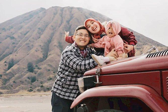 Mount Bromo Jeep Car Rental departs from CEMORO LAWANG