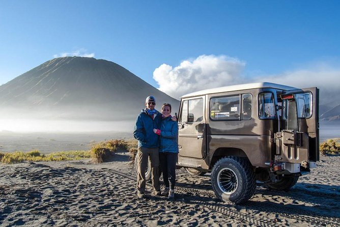 Mount Bromo Jeep Car Rental departs from TUMPANG