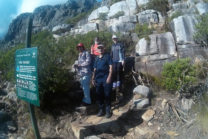 Indian-Venster - Table Mountain