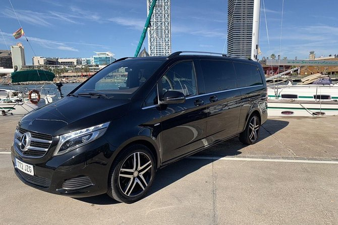 Chauffeured Barcelona Tour With Airport Pick-up