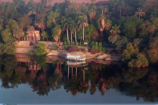 Botanical garden with Felucca ride on Aswan Nile River