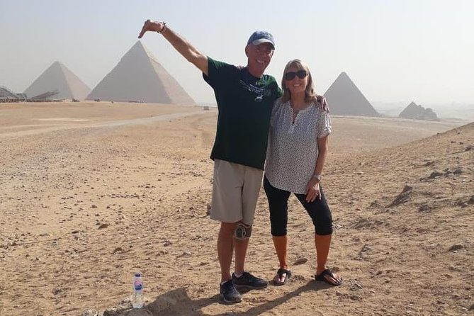 Giza Pyramids and Sphinx Half Day Tour From Cairo