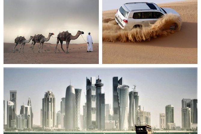 (Private) Combo Doha City And Half Day Desert Safari Tour (No Hidden cost)