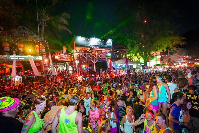 Koh Phangan Full Moon Party with Return Transfer