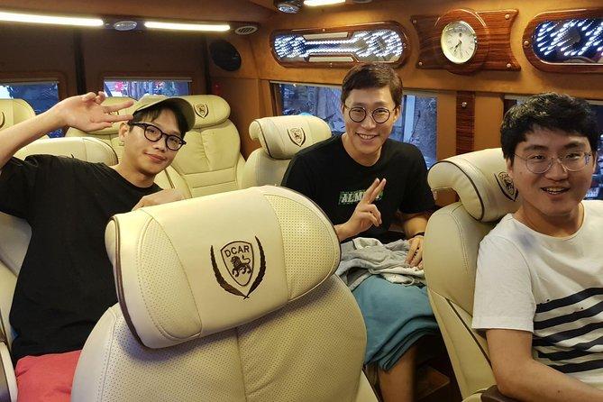 Hanoi - Ha Long shared car transfer