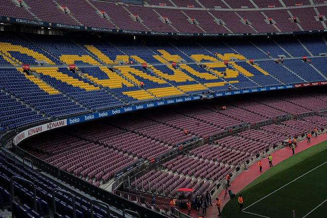 Camp Nou Stadium Tour
