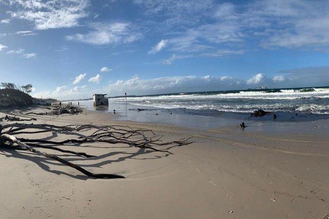 Bribie Island Boat and 4x4 Beach Tour