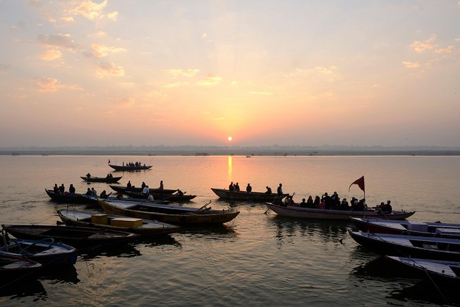 Sunrise in Banaras with Boat Ride & Ganga Aarti (2 Hours Guided Walking Tour)