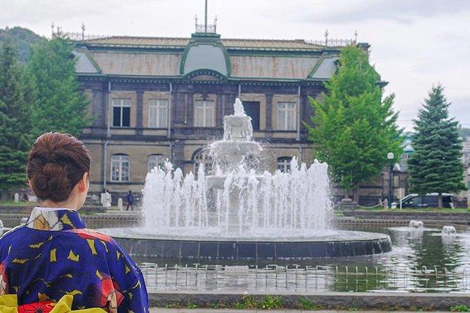Private Tour - A Tour to Discover the History of Otaru with Kimono on!