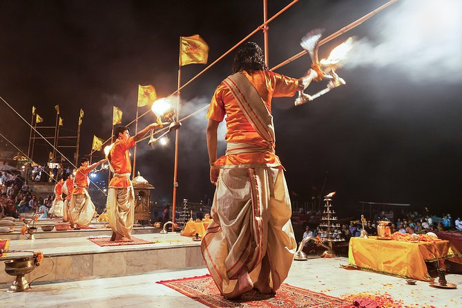 Mysticism of Varanasi with Boat Ride & Ganga Aarti (2 Hours Guided Walking Tour)