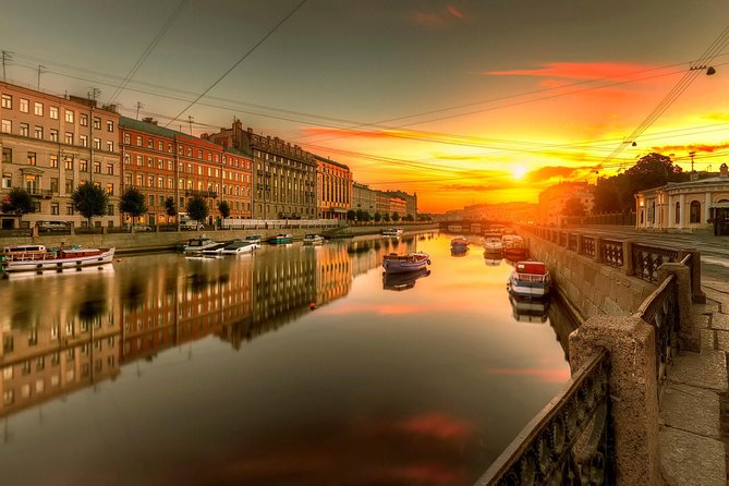 Full Day Private City Tour of St Petersburg by Car