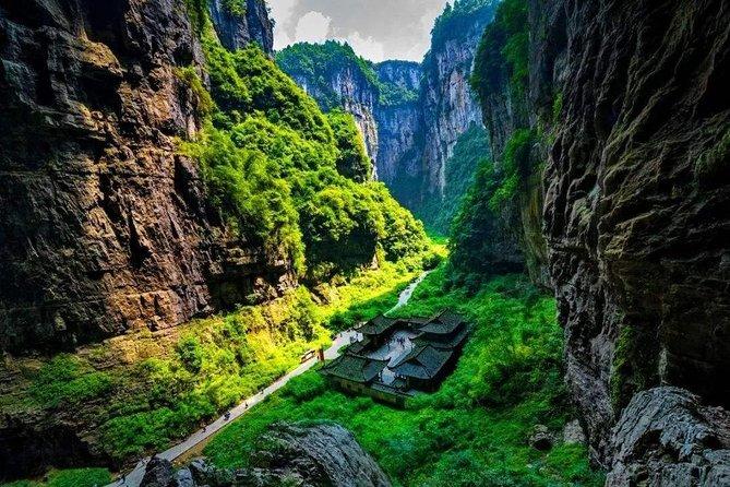 280 USD Per Group Chongqing Wulong Karst National Park Private Tour