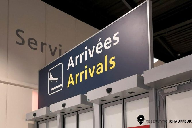 Roissy Charles de Gaulle Airport to Paris transfer