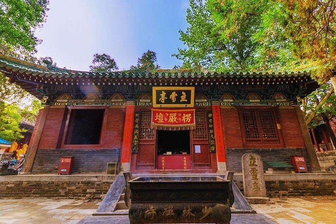 Shaolin Temple Overnight Stay Experience with Martial Art Activities from Xi'an