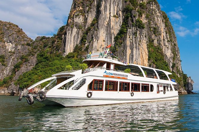 Alova Cruise - Halong Bay Day Trip- 6 hours on cruise