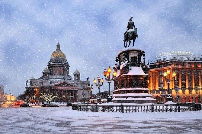 Winter Holidays in Saint Petersburg