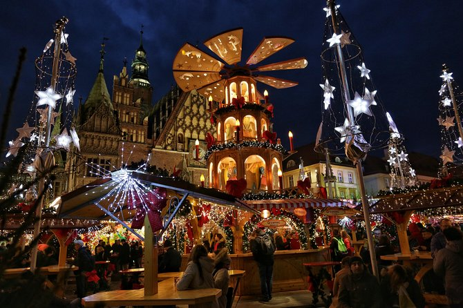 Wroclaw Christmas Market & Conspirators Tour