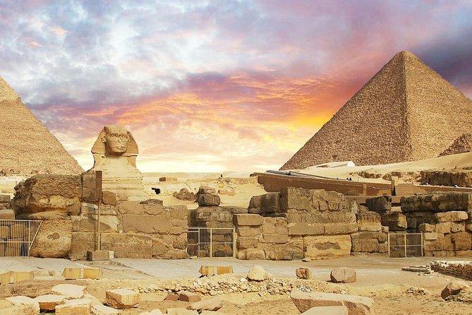 Tour delle piramidi e pranzo a Cafelluca