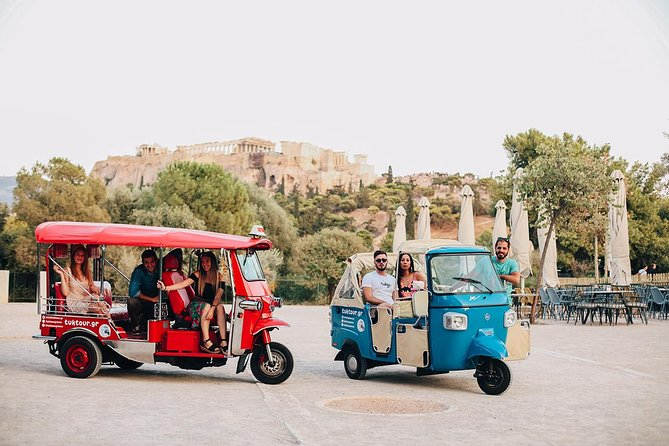 Tuk Tuk in Athens! Explore the city with our tour escort !!