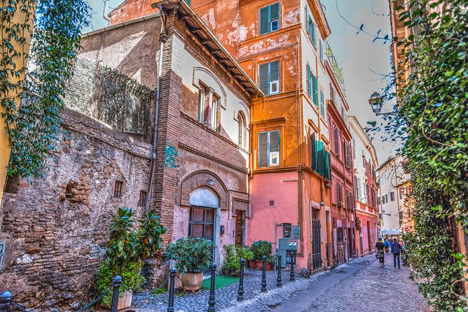 Golf cart Tour: Trastevere and Jewish Ghetto