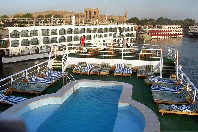 2 nights luxor and Aswan on Nile cruise board includes tours from hurghada