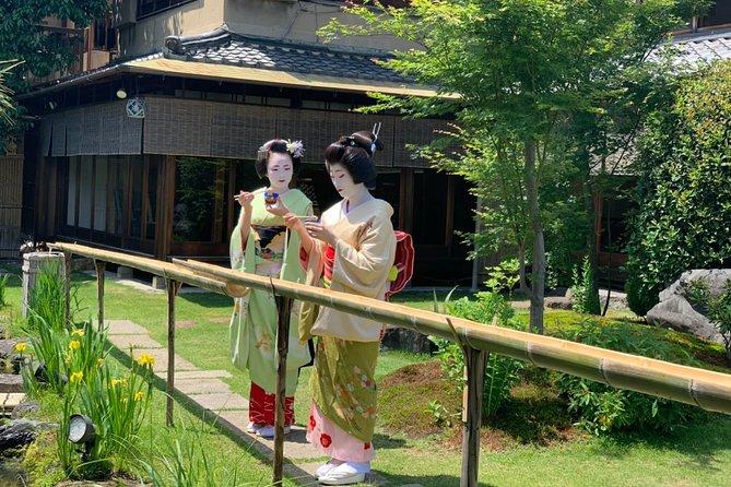 【Summer time】Luxury Geisha dinner at RYOUTEI restaurant