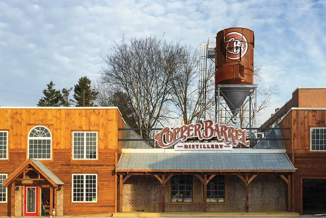 Skip the Line: Copper Barrel Distillery Premium Distillery Tour Ticket
