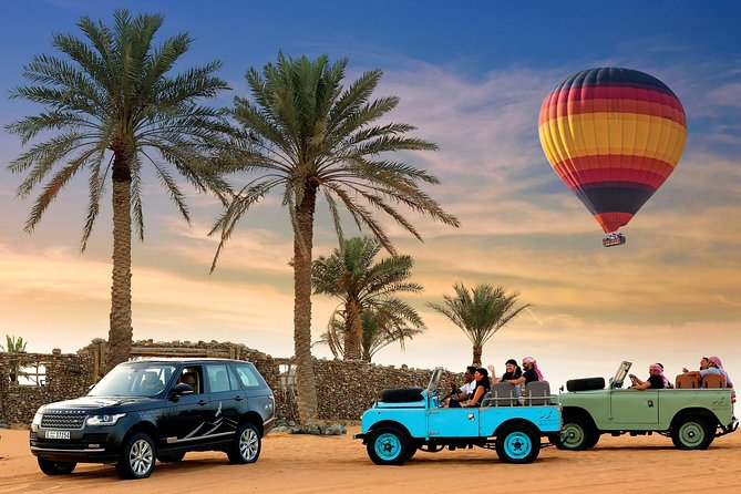 Hot Air Balloon Ride, Vintage Land Rover Ride & Breakfast