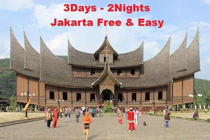 3Days-2Nights Fullday Jakarta Free & Easy with 4stars Hotel and City Tour