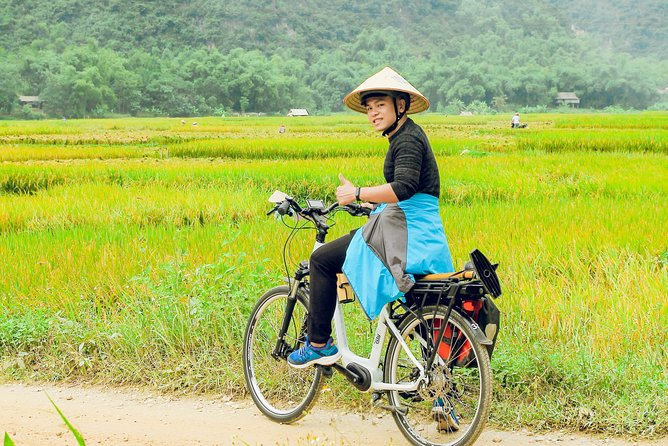 2 Days 1 Night Mai Chau Pu Luong Ethnic Trail E-Bike Tour Shared Transfer