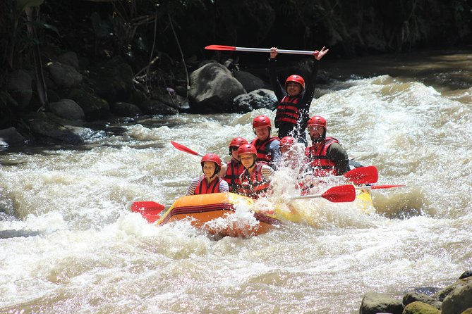 Private Bali Paintball and White Water Rafting Tour