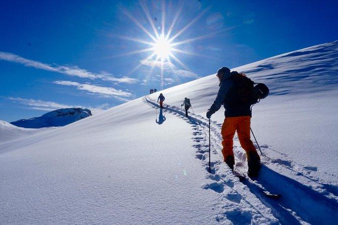 Ski touring in San Martino di Castrozza