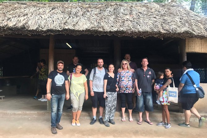 Luxury Group 1Day Tour Ho Chi Minh City & Cu Chi Tunnel With Cycling Village