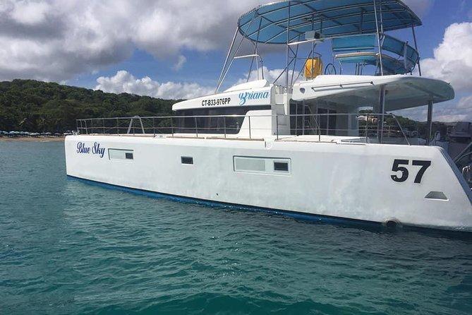Private Charter on Blue Sky Catamaran