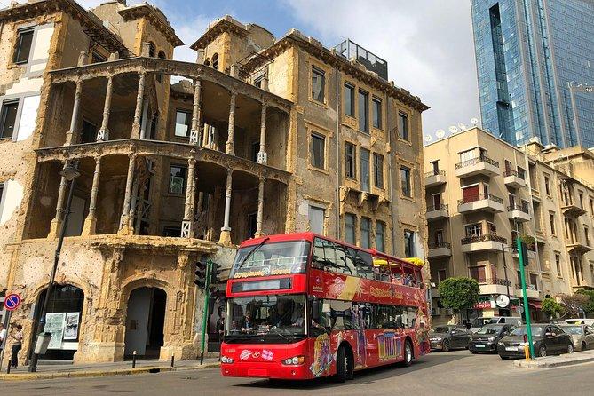 City Sightseeing Beirut: Byblos, Jeita Grotto & Harissa Day Trip + Bus Tour