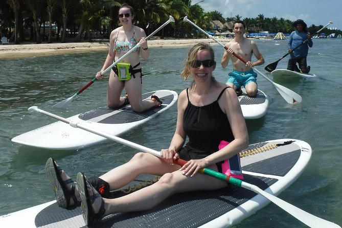 Guided Paddleboard Tour in Cozumel.
