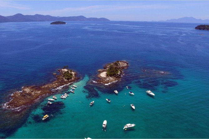Angra dos Reis with Speedboat Tour and Paradise Islands