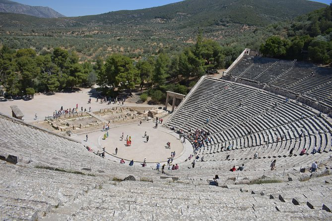 Argolis, Trip to Culture (Nafplio, Epidaurus, Mycenae) from Athens