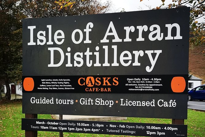 Craigs Isle of Arran Private Whisky Tour - 2 day version - up to 5 guests photo 2